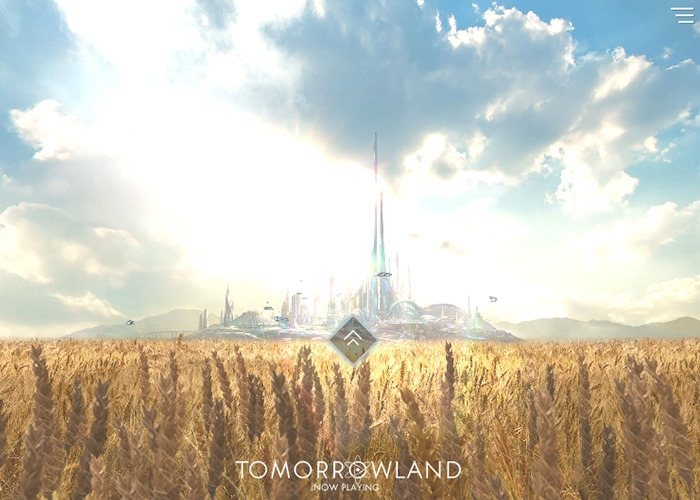Website độc đáo - Take Me To Tomorrowland