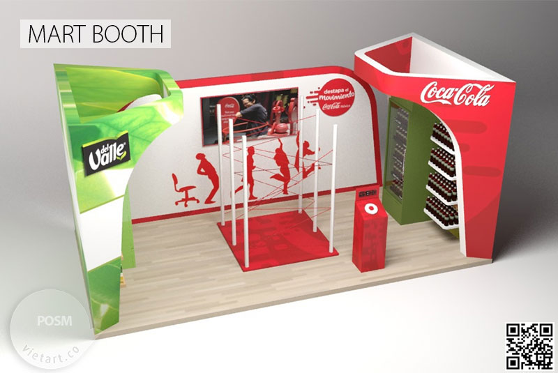 POSM mart Booth