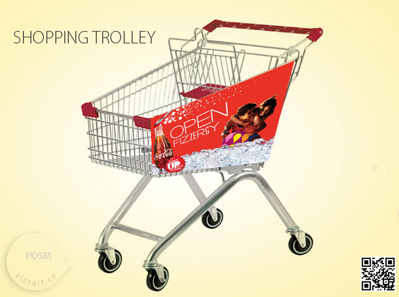 POSM Shopping trolley