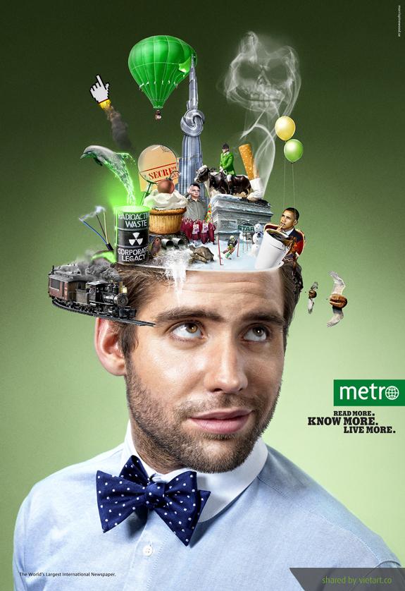 những ý tưởng quảng cáo sáng tạo