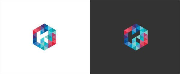 Mẫu logo đa giác sáng tạo | Xu hướng thiết kế logo 2015 Mẫu logo đa giác sáng tạo | Xu hướng thiết kế logo 2015
