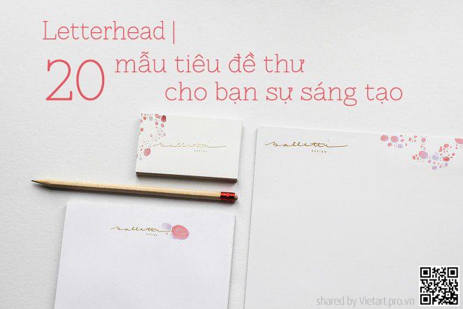 Thiết kế in ấn letterhead