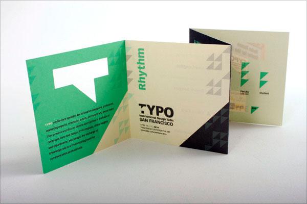 Mẫu thiết kế Leaflet - tờ rơi