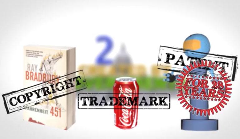 Sự khác biệt giữa thương hiệu, bản quyền, bằng sáng chế