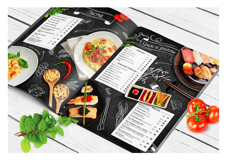 Mẫu menu thực đơn đẹp