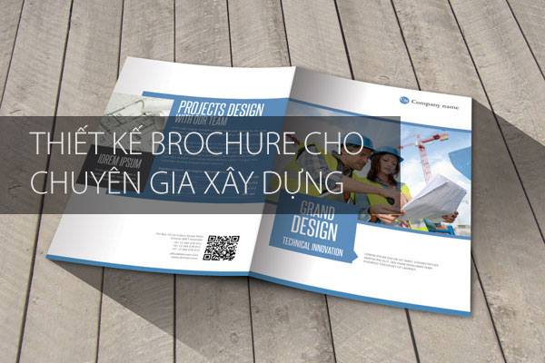 Thiết kế in ấn Brochure xây dựng