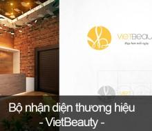 Bộ nhận diện thương hiệu VietBeauty