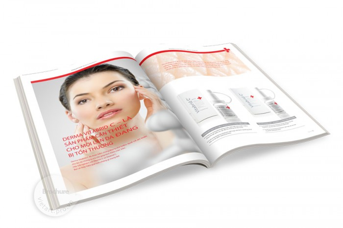 Brochure mỹ phẩm