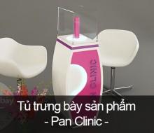 Tủ trưng bày sản phẩm Pan Clinic