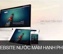 Website Nước mắm hạnh phúc