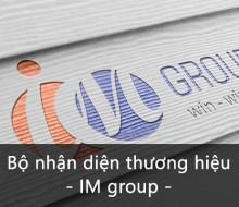 Bộ nhận diện thương hiệu IM Group