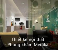 Nội thất phòng khám Medika