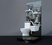 P.O.S.M trưng bày sản phẩm – TBV