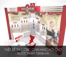 Booth hội chợ – Nước mắm Thanh Hà