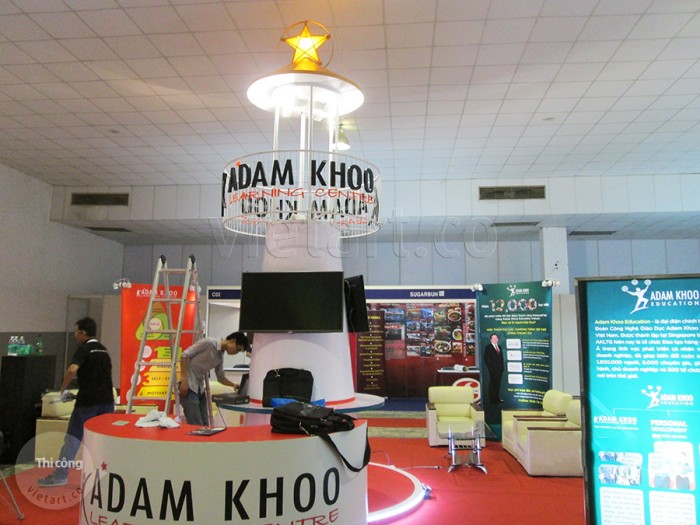 Booth chương trình – Adam Khoo