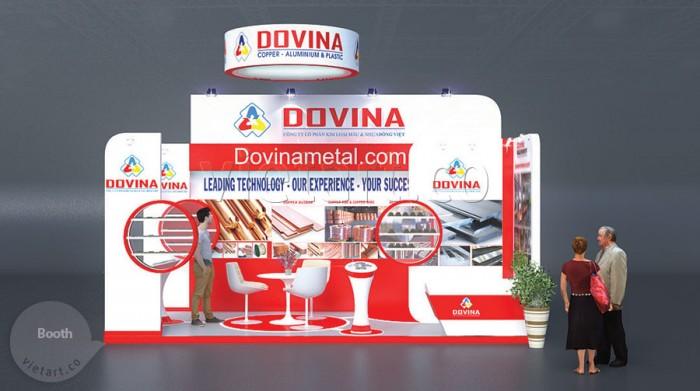 Booth triển lãm – Dovina