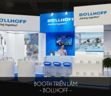 Booth triển lãm Bollhoff