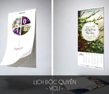 Mẫu lịch độc quyền – VCLI