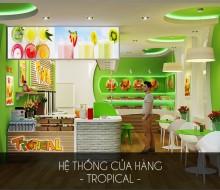 Hệ thống cửa hàng Tropical