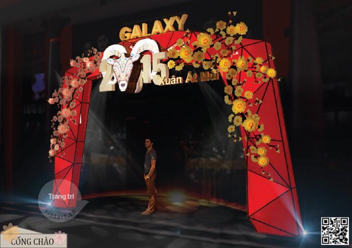 Trang trí Tết Ất Mùi – Galaxy Cinema