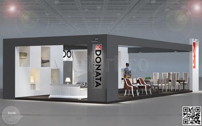Booth triển lãm Donata