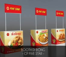 Booth di động Cp Five Star