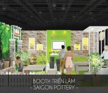 Gian Hàng hội chợ Sài Gòn Pottery