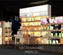 Booth Bán Hàng Andalou