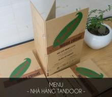 Menu Nhà Hàng Tandoor