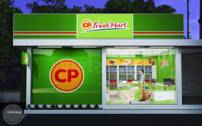 Hệ thống cửa hàng CP Fresh Mart