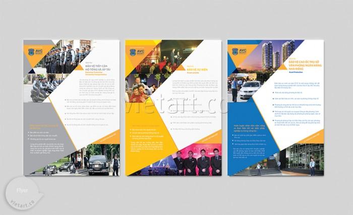 Bộ Folder – Flyer – Voucher – AVC Security