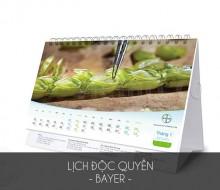 Lịch độc quyền Bayer