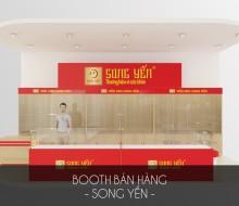 Booth bán hàng Song Yến