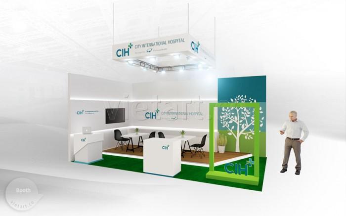 Booth triển lãm CIH