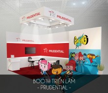 Booth triển lãm Prudential