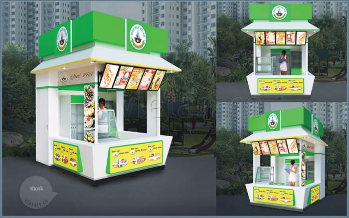 Kiosk bán hàng Quê Việt