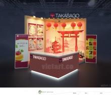 Gian hàng triển lãm TAKASAGO