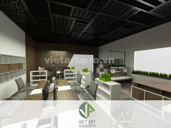 Thiết kế không gian nội thất văn phòng uy tín