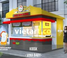 Kiosk cháo VINA BABY